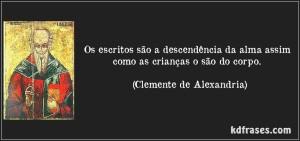 clemente de alexandria