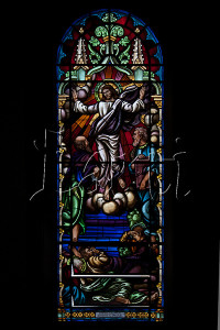 VITRAL: TRANSFIGURAÇÃO DE CRISTO - STAINED GLASS: The Transfiguration of Christ