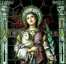 Santa Agnes de Roma